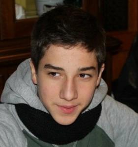 Nella foto Daniele Natali (figlio dello storico portiere pistoiese Roberto) oggi al debutto in prima squadra.