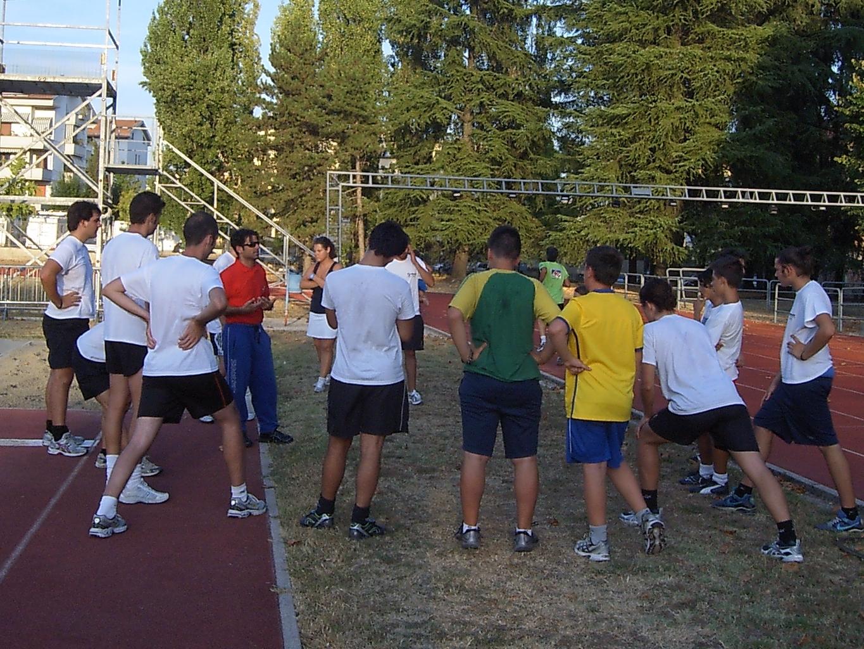 La prima squadra al Campo Scuola lo scorso settembre