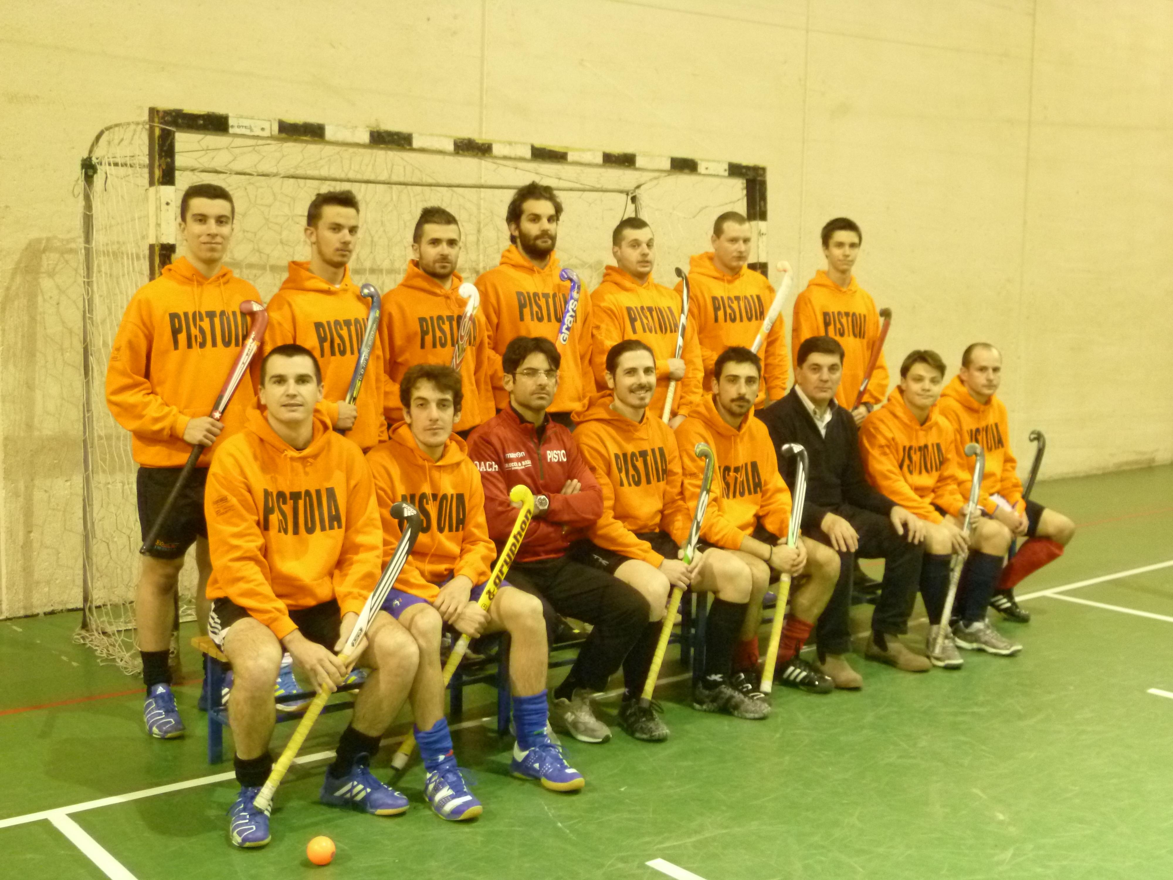 La prima squadra nel campionato di Serie A Indoor