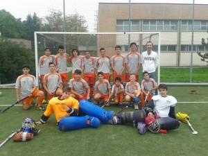 L'Under 17 a Reggio Emilia nella partita del girone di andata