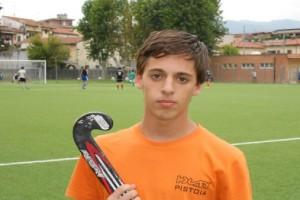 Dario Cioni autore della prima rete in campionato