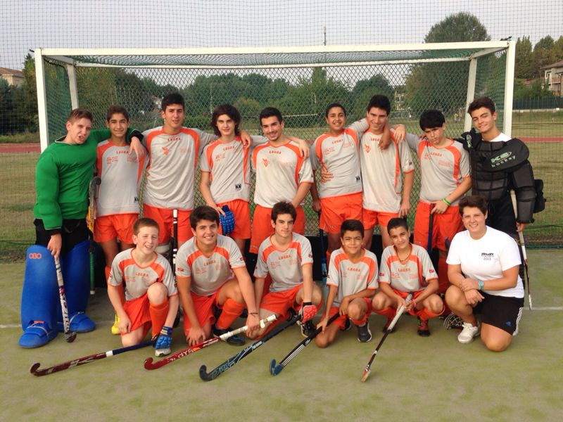 La formazione Under 17 a Bondeno