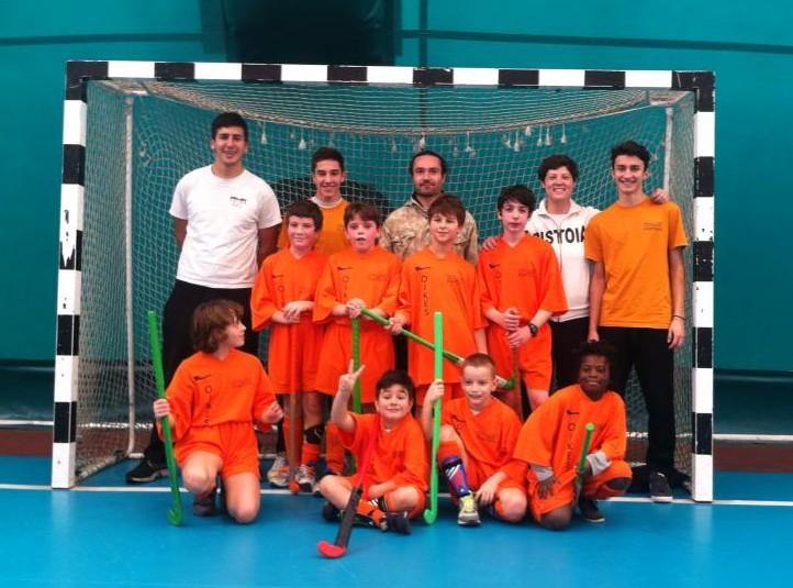 Il gruppo della Under 12 mista al torneo Memorial Messerin di Pisa