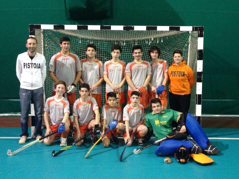La formazione Under 17 scesa in campo a Pisa