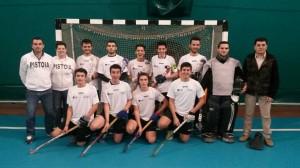 La formazione Under 21 scesa in campo a Pisa nel primo concentramento Indoor