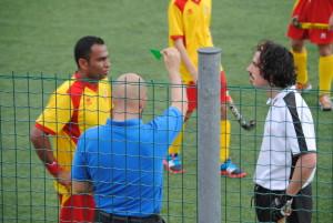 A destra Alessio Masi uno dei migliori in campo